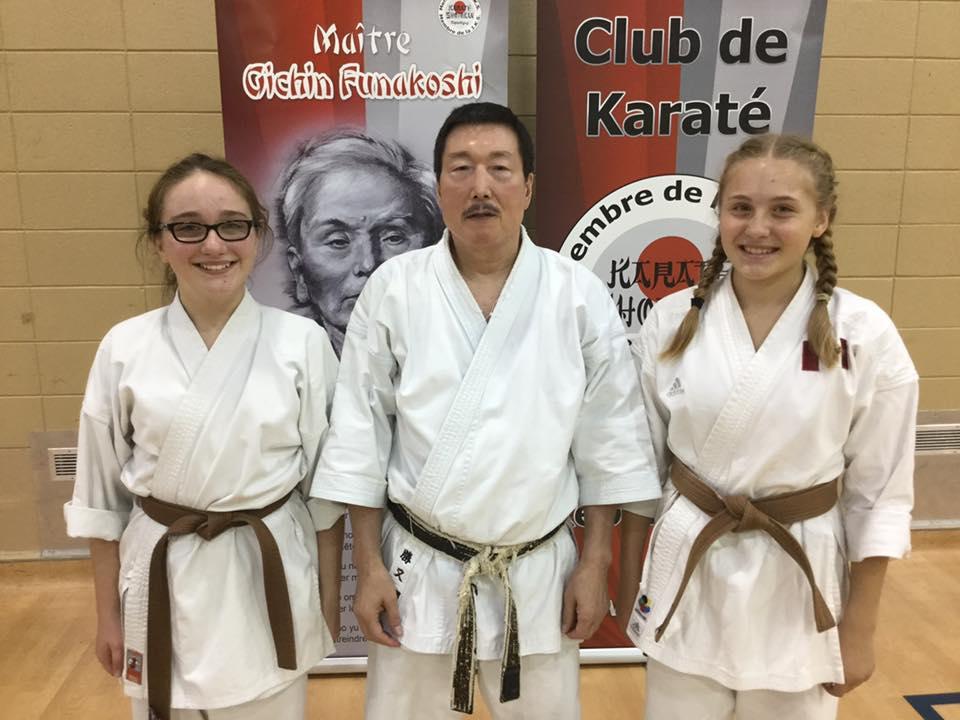 club karate shotokan repentigny